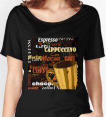 Mocha Brown Women's Relaxed Fit T-Shirt
