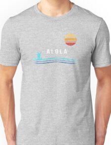 Pokemon Sun and Moon - Alolan Raichu Surfing Unisex T-Shirt