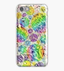 bursting bubbles are free iPhone Case/Skin