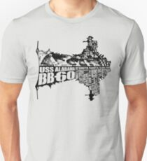 USS Alabama (BB-60) Unisex T-Shirt