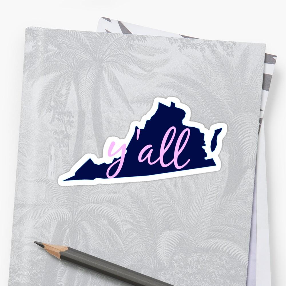 Virginia - Heimat von Euch allen Sticker