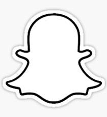 Snapchat (Logo) Sticker
