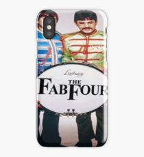music the fab four iPhone Case/Skin