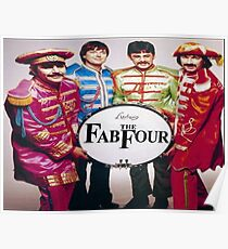 music the fab four Poster
