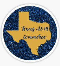 Texas A&M - Commerce Sticker