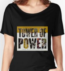 music tower of power Women's Relaxed Fit T-Shirt