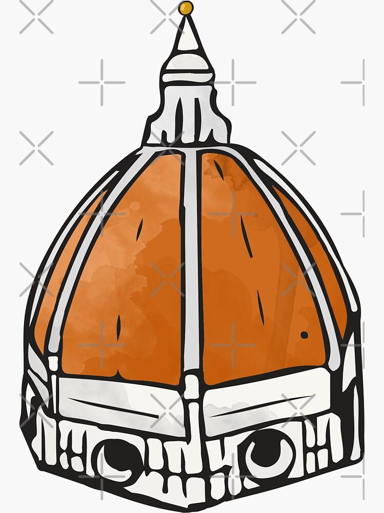 Etiqueta engomada del Duomo de Florencia de aterkaderk