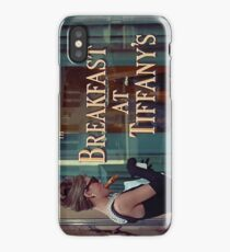 Breakfast at Tiffany's Title Screen iPhone Case/Skin