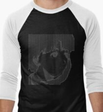 Love Lain ASCII Men's Baseball ¾ T-Shirt