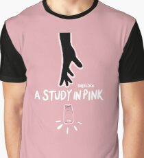 A Study in Pink  Graphic T-Shirt
