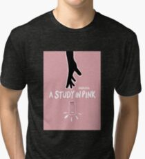 A Study in Pink  Tri-blend T-Shirt