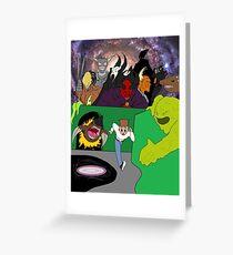Stephen's Wacky Maze (2016) Greeting Card