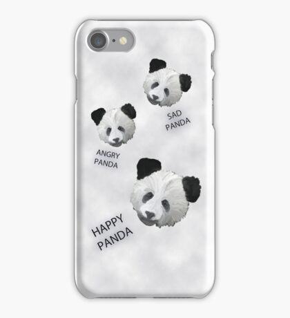 Panda Feelings iphone case, card and t-shirt AKA The Emotional Panda iPhone Case/Skin