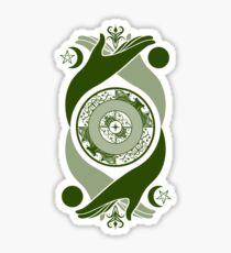 Spiritual Compass (earth) Sticker