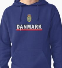 Danmark Danish National Team Jersey Style T-Shirt