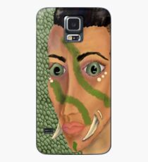 Young Orcish Woman Case/Skin for Samsung Galaxy