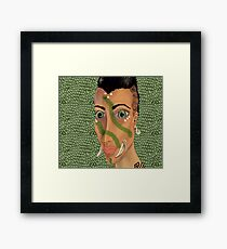 Young Orcish Woman Framed Print