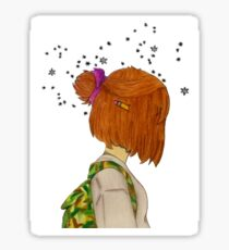 'Lost Girl, In A Starry World'.   Sticker