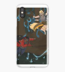 Running Through the Final Layer iPhone Case/Skin