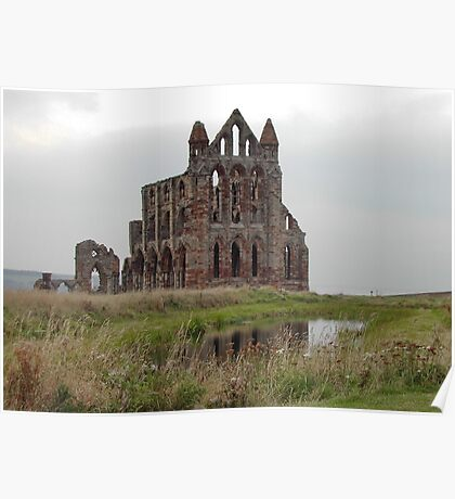 Whitby Abbey, North Yorkshire, UK Poster