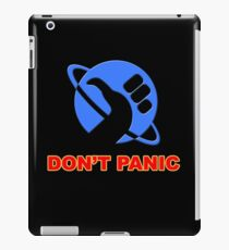 hitchhiker's guide to the galaxy iPad Case/Skin