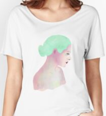 Watercolor Girl Women's Relaxed Fit T-Shirt
