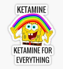 Ketamine, Ketamine for everything! Sticker