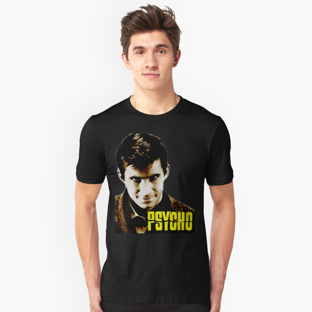 Psycho 1960 Film Poster Red House T-Shirt