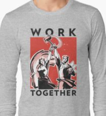 Work Together (Vector Recreation) Long Sleeve T-Shirt