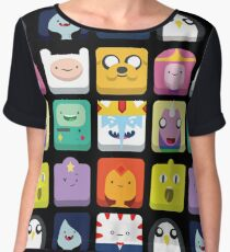 Adventure time! Women's Chiffon Top