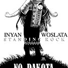 Inyan Woslata Standing Rock NODAPL by m2bulls
