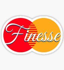Finesse Bank Card Sticker
