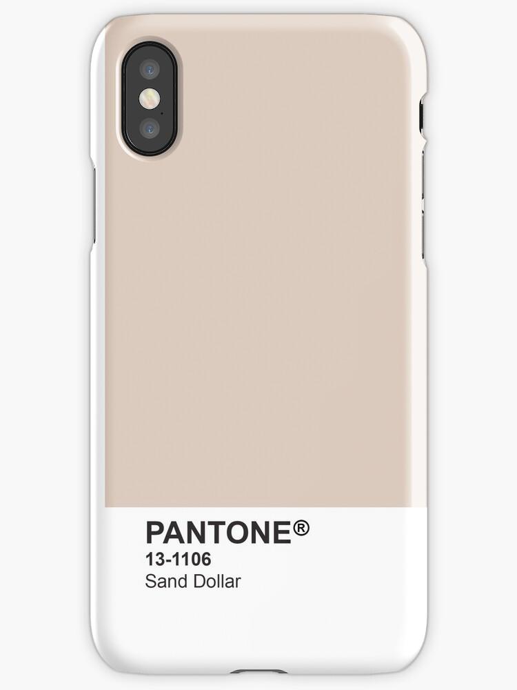 Pantone Universe Phone Case - Sand Dollar 13-1106 by sianelisha