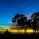 Misty Sunset in Isla Vista by Brian Haidet