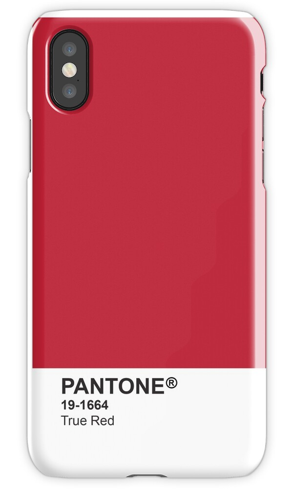 pantone universe phone case true red 19 1664 iphone