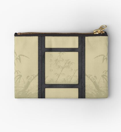 Tatami - bamboo Studio Pouch