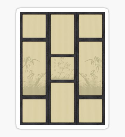 Tatami - Bambus Sticker