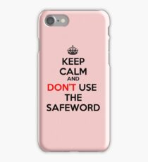 KEEP CALM - FIFTY SHADES iPhone Case/Skin