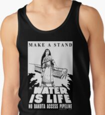 Make a Stand Water is Life Men's Tank Top