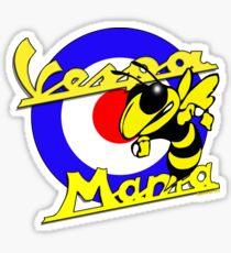 Vespa Mania Sticker
