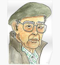 Anciano Portugués Póster