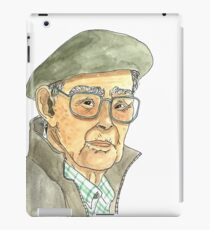 Anciano Portugués Vinilo o funda para iPad