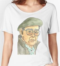 Anciano Portugués Camiseta ancha para mujer
