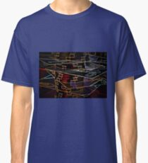 Stacked Deck royal flush poker chips abstract Classic T-Shirt