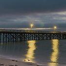 The Pier at Goleta Beach (Blue) by Brian Haidet