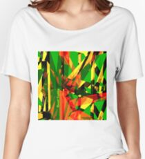 Shatter City Green Tower Women's Relaxed Fit T-Shirt