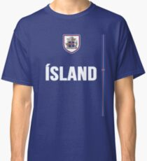 Iceland National Team Jersey Design - Island Team Wear Classic T-Shirt