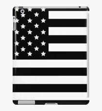 AMERICAN FLAG BLACK iPad Case/Skin