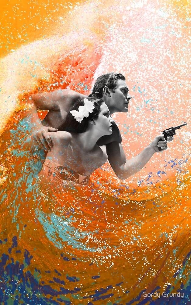 Waimea Ward and the Hurricane by Gordy Grundy