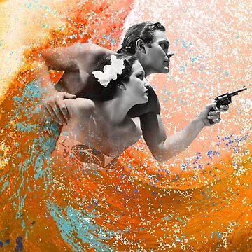 Waimea Ward and the Hurricane by GordyGrundy
